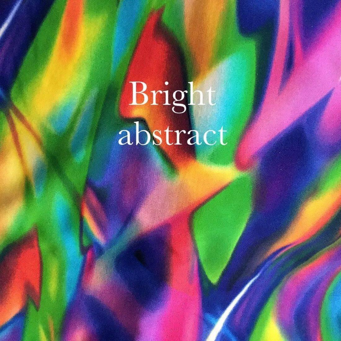multicolor vibrant print