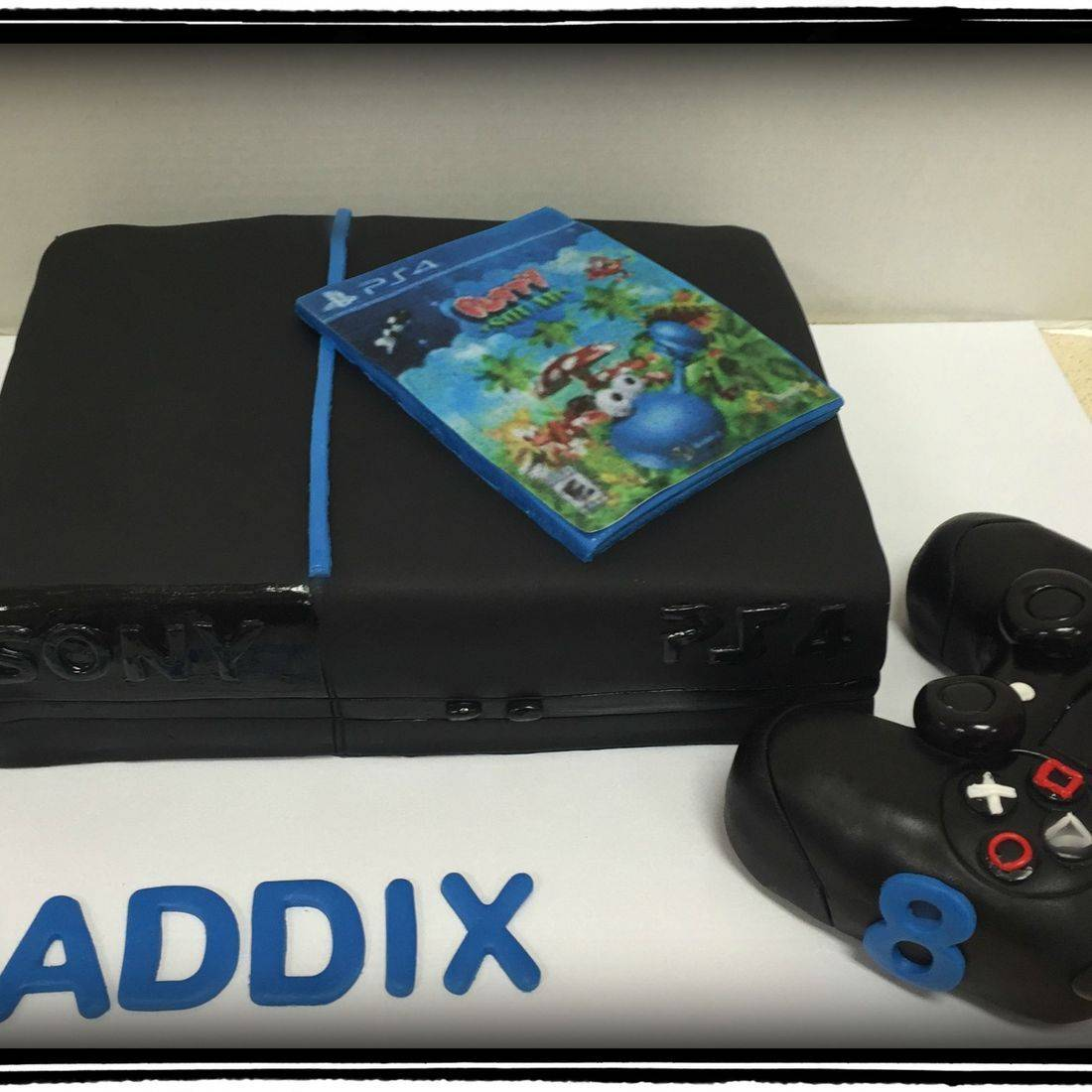 birthday cake playstation 4 playstation cake
