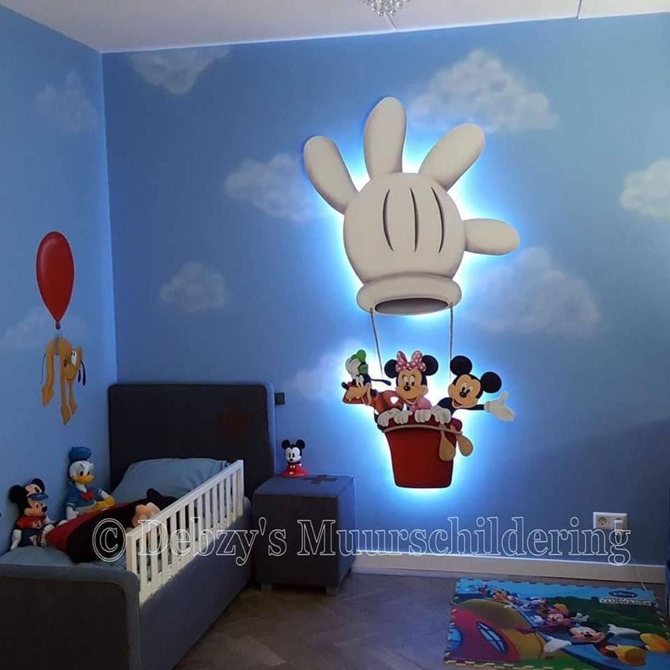 Mickey Luchtballon Paneel Verlichting
