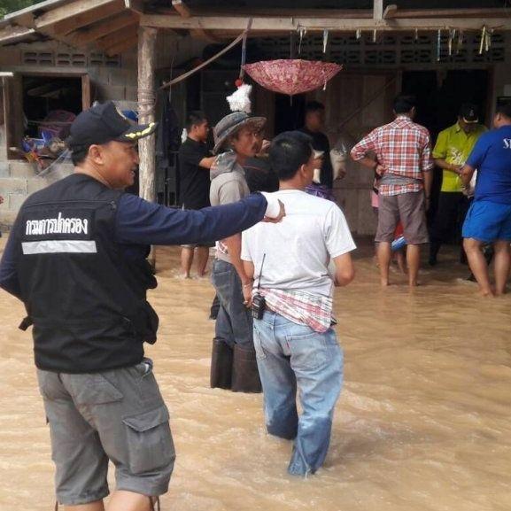 Flash Flood in Krabi