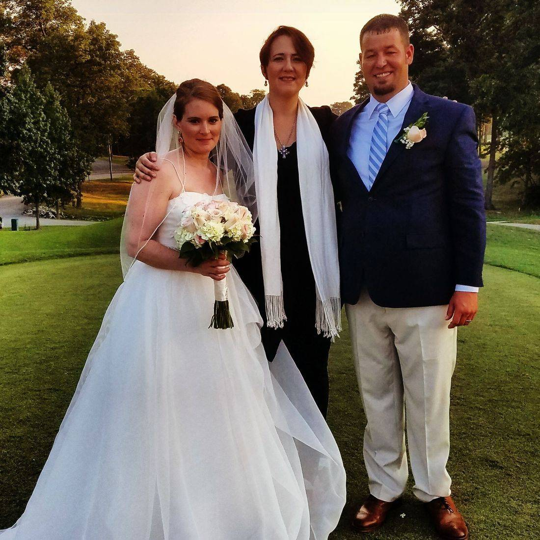 Golf club weddings, charlotte, NC, officiant, minister, wedding venues