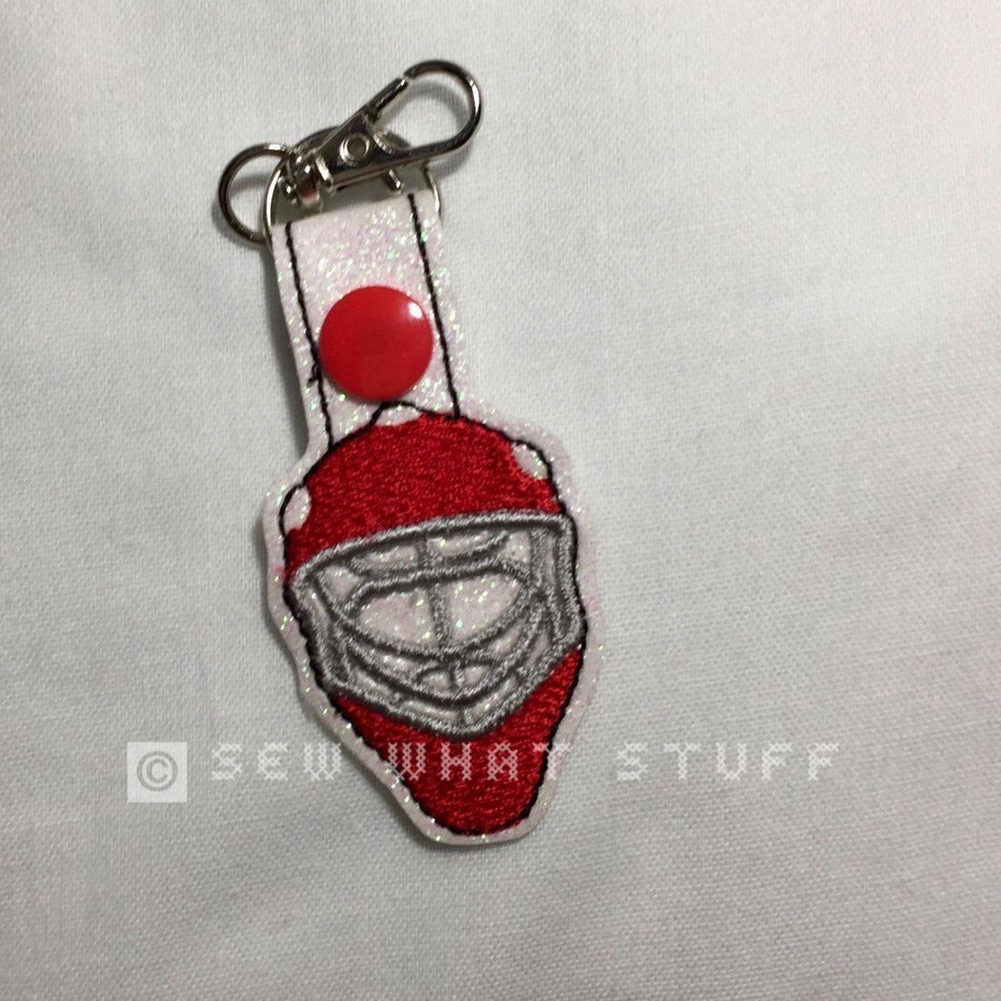 Goalie Key Tag/Zipper Pull