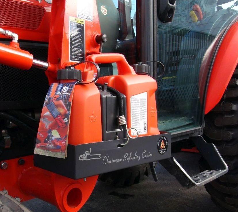 Kubota Tool Box. Tractor Tool Box