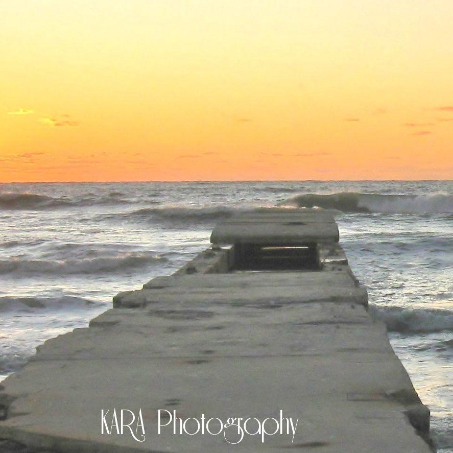 Pier, Water, Ocean, Sun, Sunset, Clouds, Sea, Beach, Waves, Anna Maria Island, Bradenton, Florida