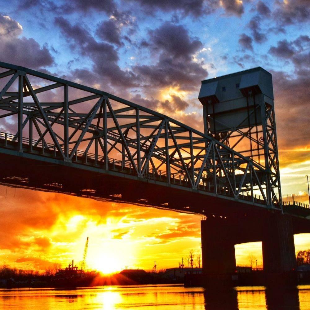 P Batson - Sunset Bridge