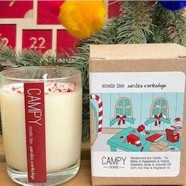 Smells Like: Santa's Workshop, Campy Home candle