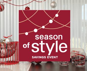 Get mail-in rebates on qualifying purchases of Hunter Douglas seasonal styles starting September 12, 2020.