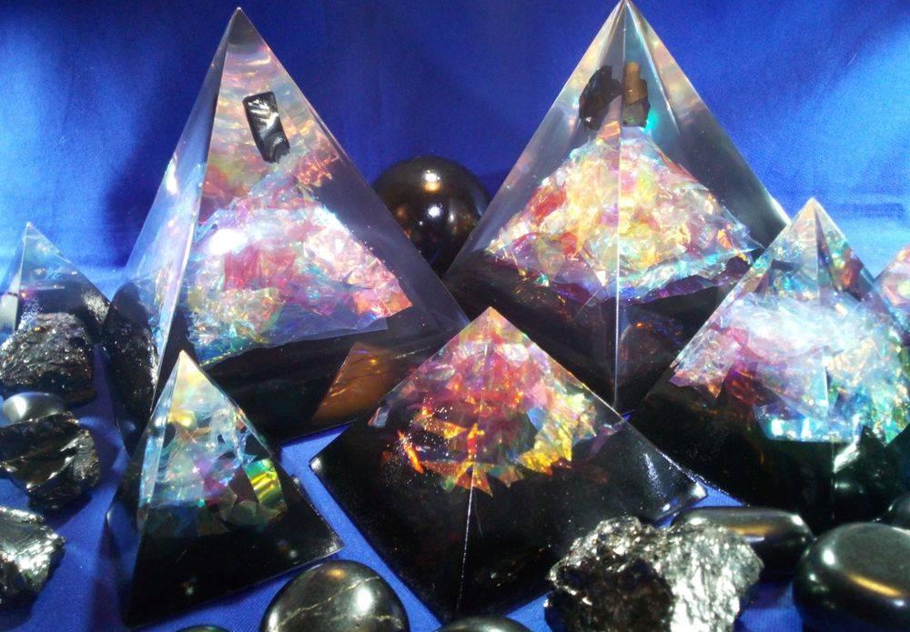 Oraphim Pyramids Shungite