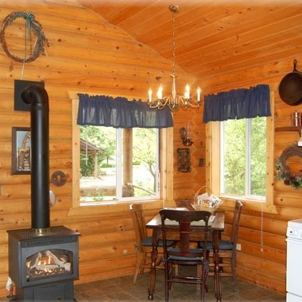 Log cabins, Concrete, Washington, historic ranch