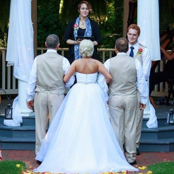 minister, officiant, wedding, venue, midland, NC