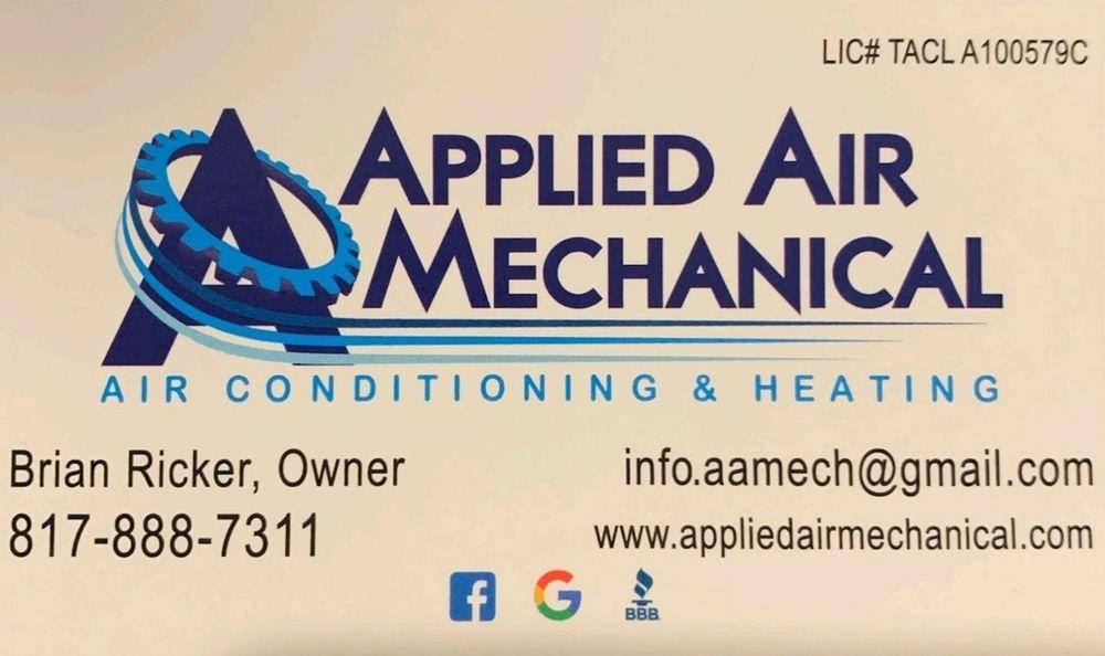 Applied Air Mechanical Brian Ricker