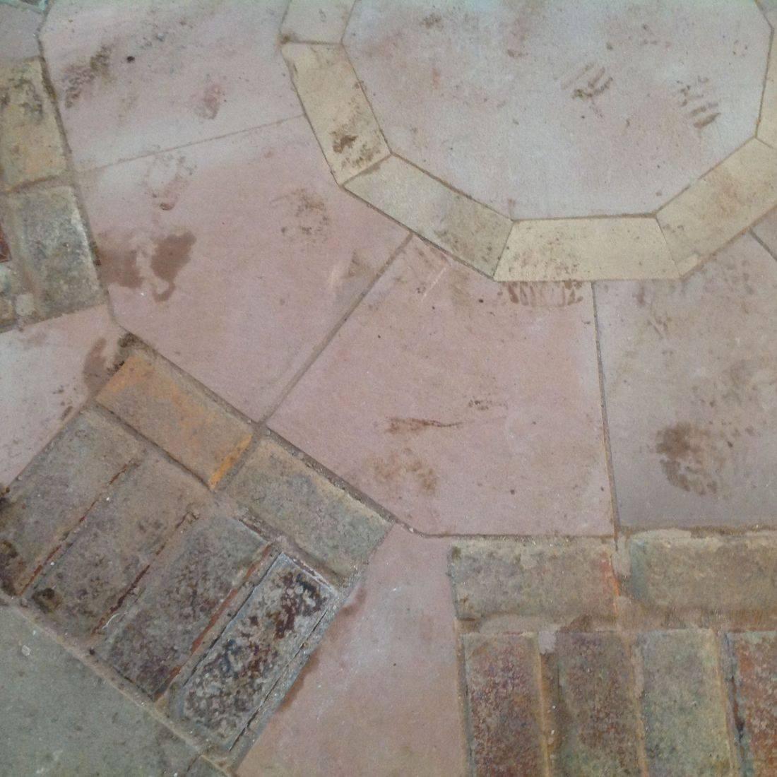 stone floor flooring cream pastel