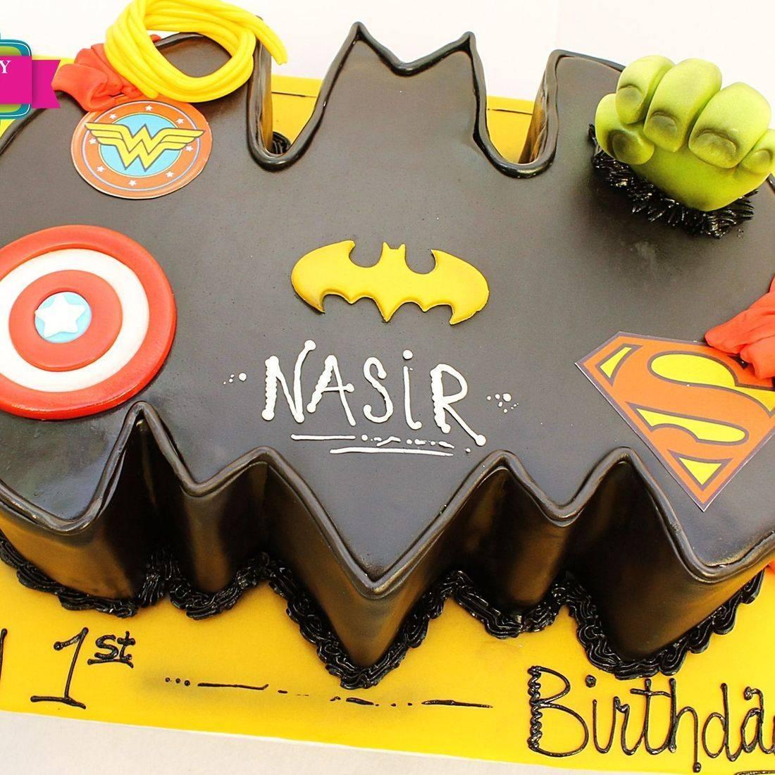 Batman Superhero Cake Dimensional Cake Milwaukee