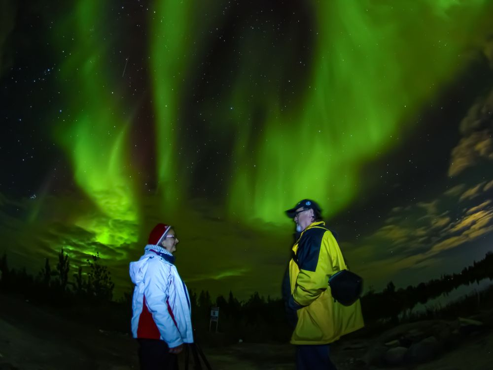 Yellowknife Aurora Viewing Hunting Package