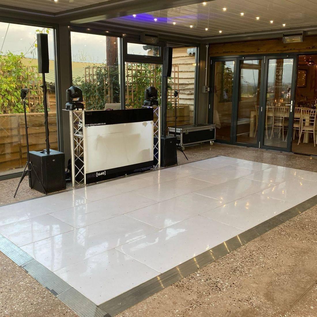 High Grosvenor House Led dancefloor  Wedding Staffordshire   DJ West Midlands led dancefloor