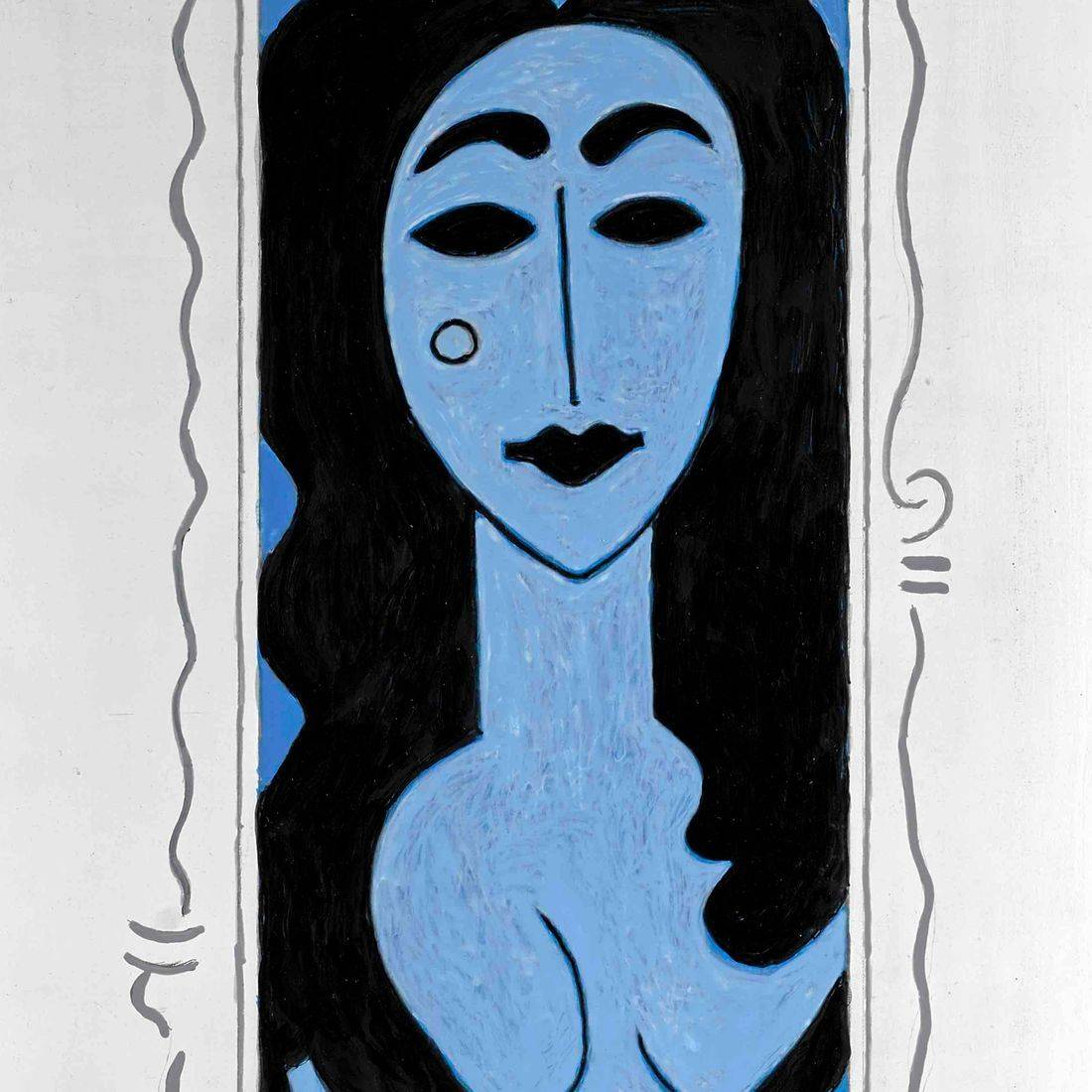 Picasso, the Blue Period, Sexy Woman, Femme Fatale