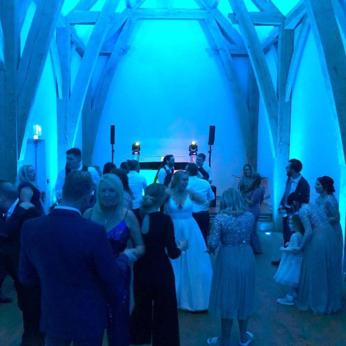 DJ Ollie Clarke Wedding DJ The Mill Barns Wedding Venue