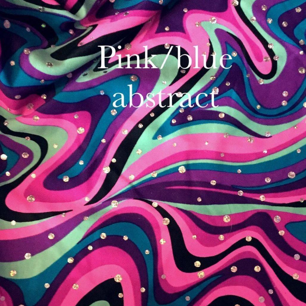 blue/pink print