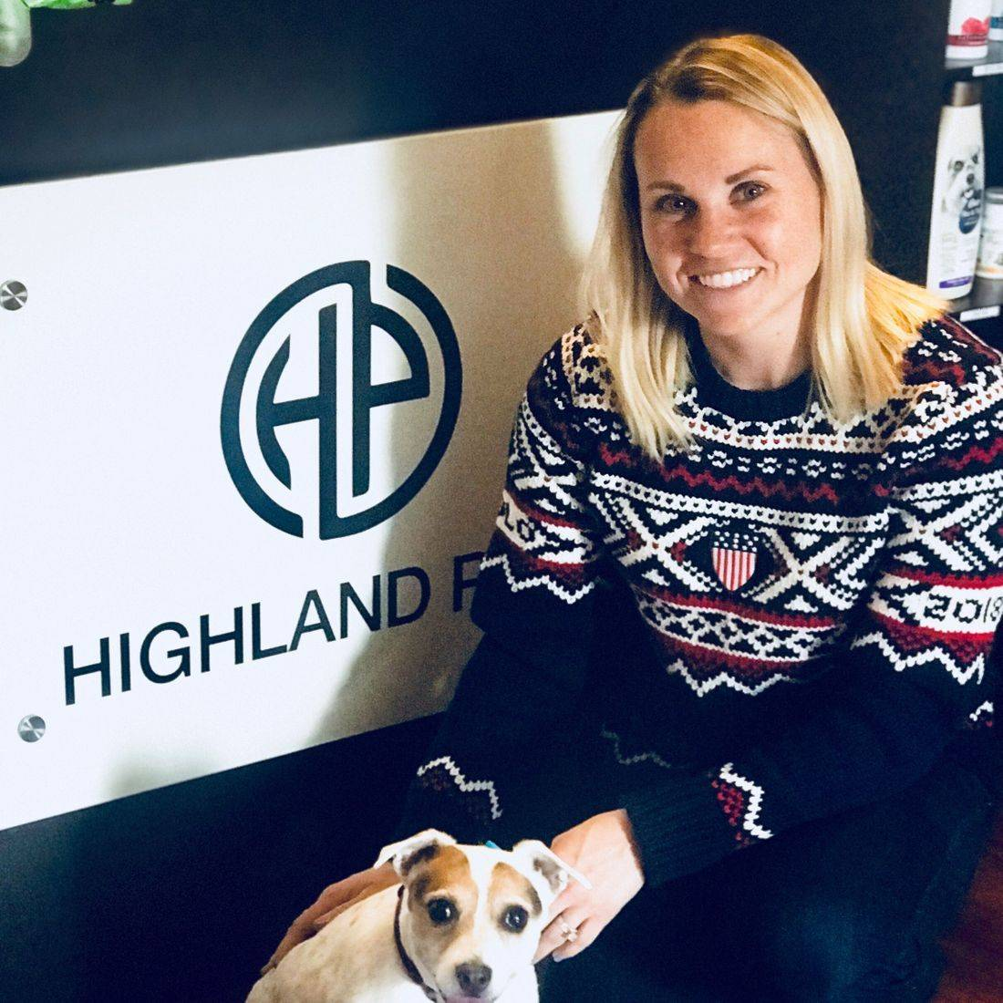 Dog Hurley Jessica Kooreman Dog Olympics USA Team