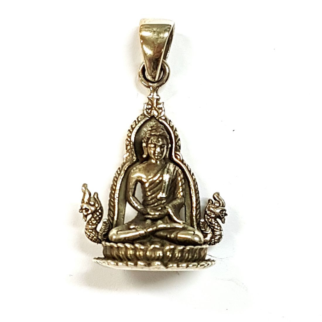Resting Hands Buddha Pendant  available at Kazbah online and our Leicester City Centre shop