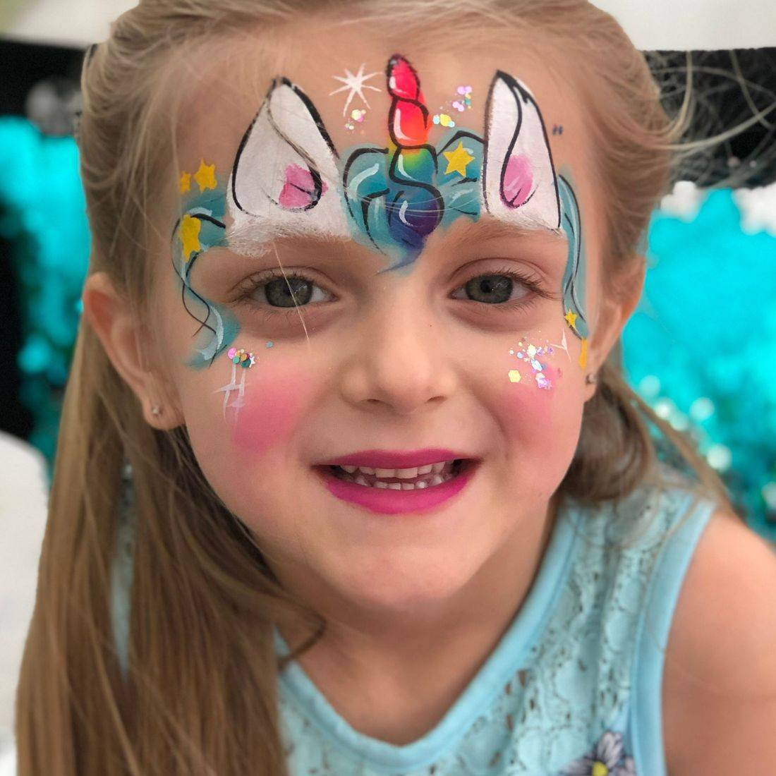 Chicago face painting, face painter, children's face painting services,  emoji painting,