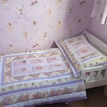Jane Churchill Meadow Fairy Fabric Cot Bed Quilt