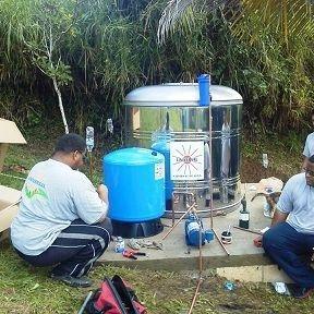 Instalacion de cisterna en Puerto Rico