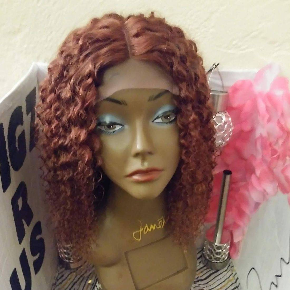 Brazilian  Kinky Curl  8inch