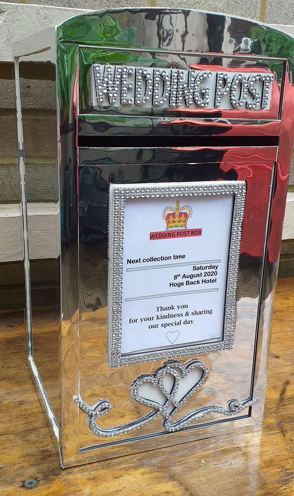 Mirror Post Box Hire, Surrey, Hampshire