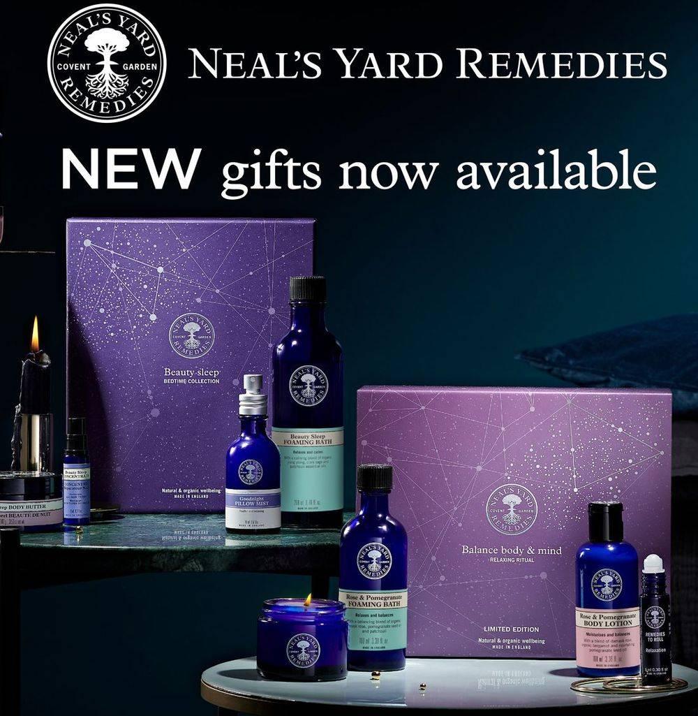 organic health & Beauty, ethically traded, Neal's Yard organic, foot health