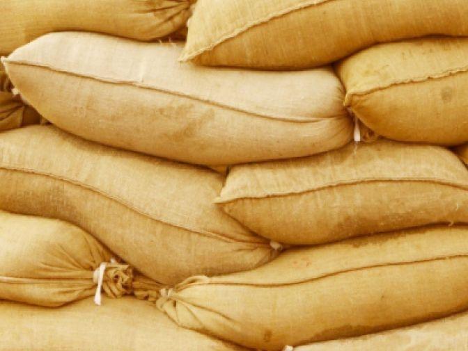 Sand sacks in UAE