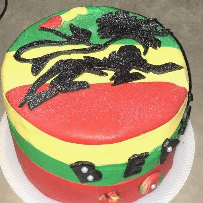 Lion of Judah cake