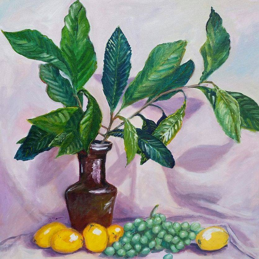 Leaves, Grapes and Lemons