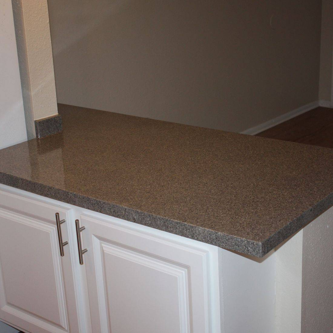 Refinished Countertop with clear gloss