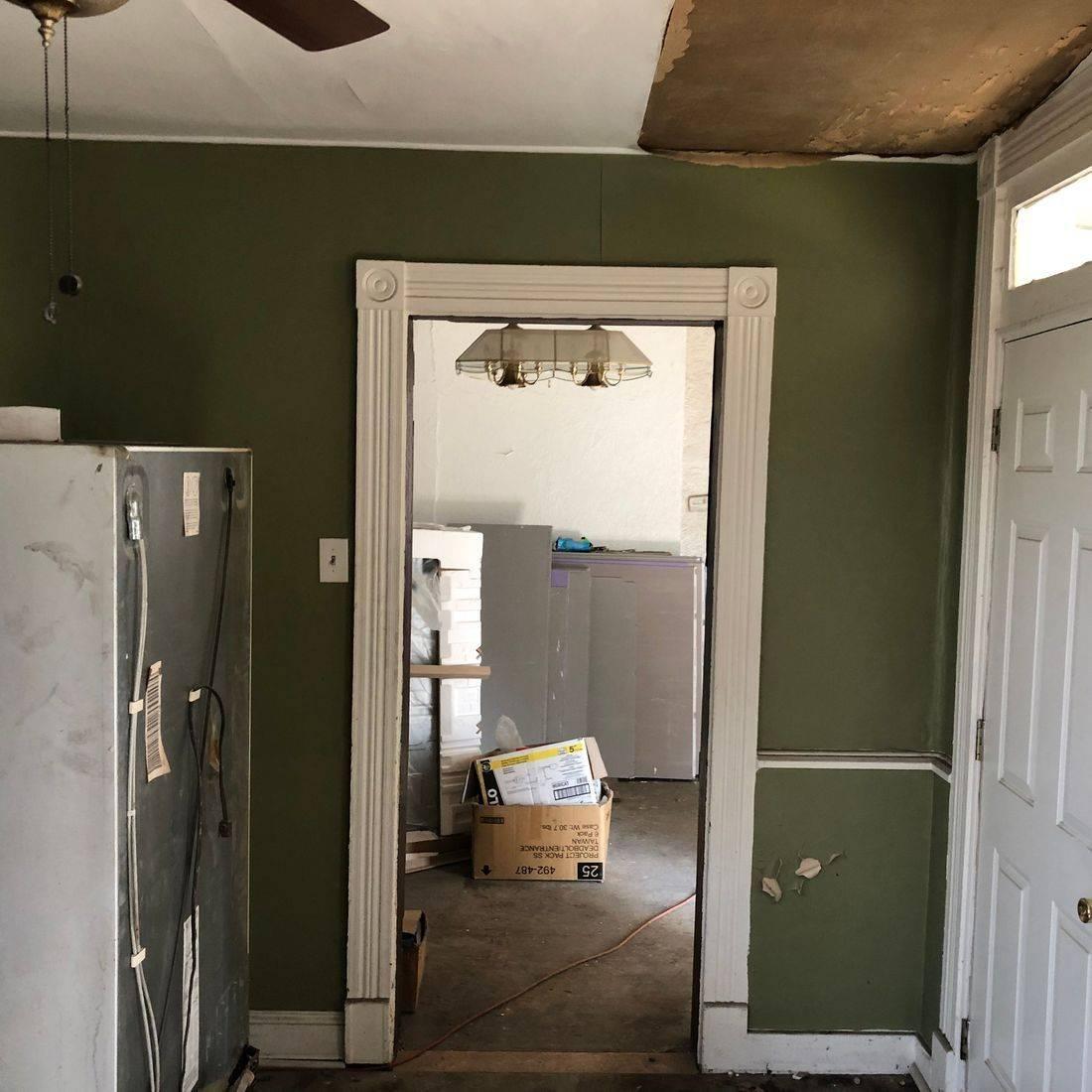 Interior Framing/ Before