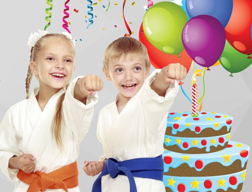 karate birthday parties martial arts