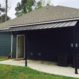 standing seam patio awning