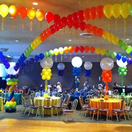 Bar/Bat Mitzvah Decor