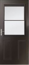 Storm Door Black Retractable Screen