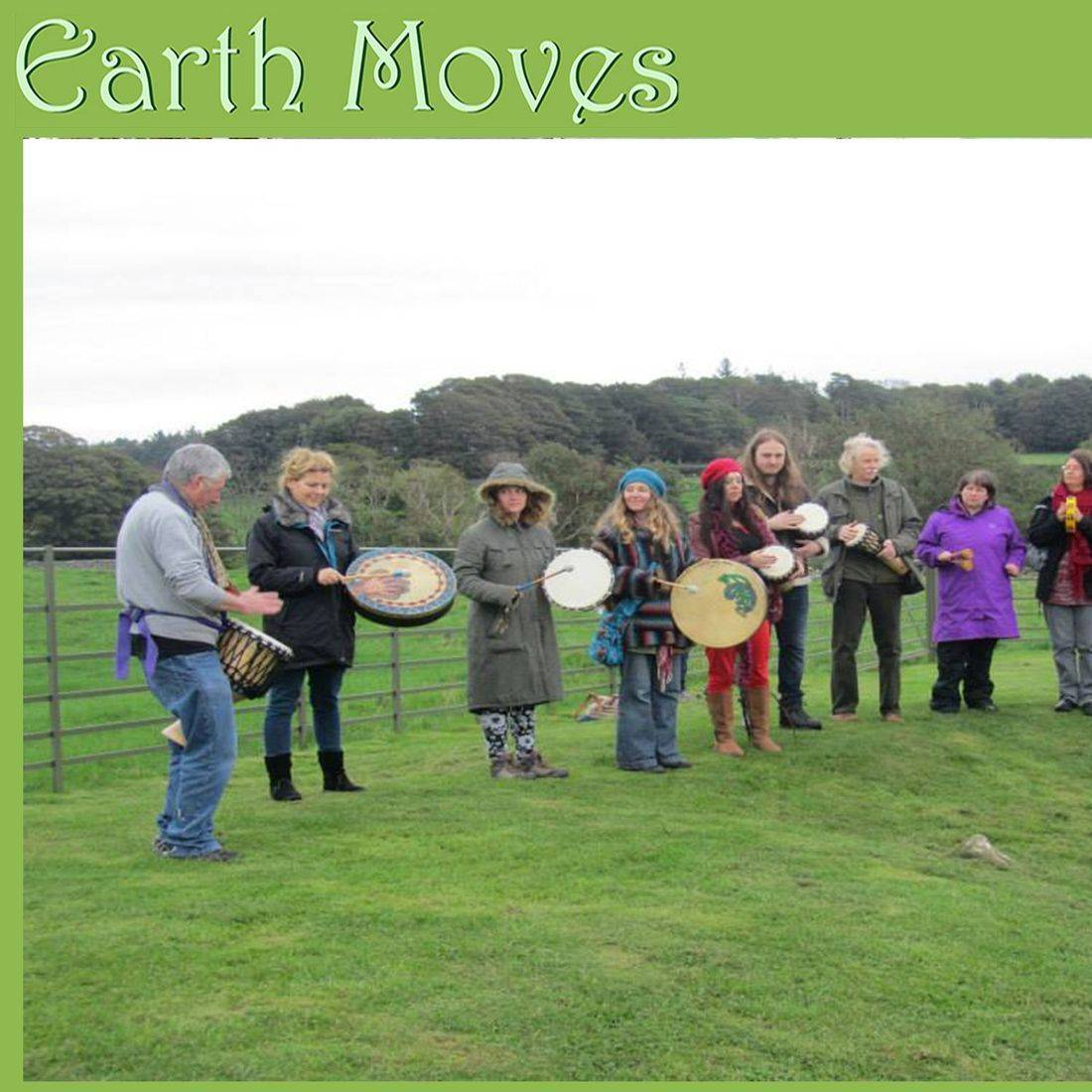 Earthmoves Wales drumming circle rhythm sacred meditative