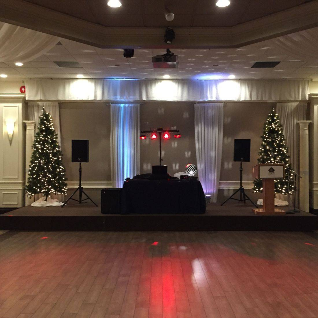 Christmas Party at Marquis Gardens Hamilton Princess Ballroom