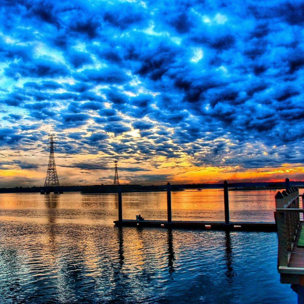 P Batson - Cloudy Sunset