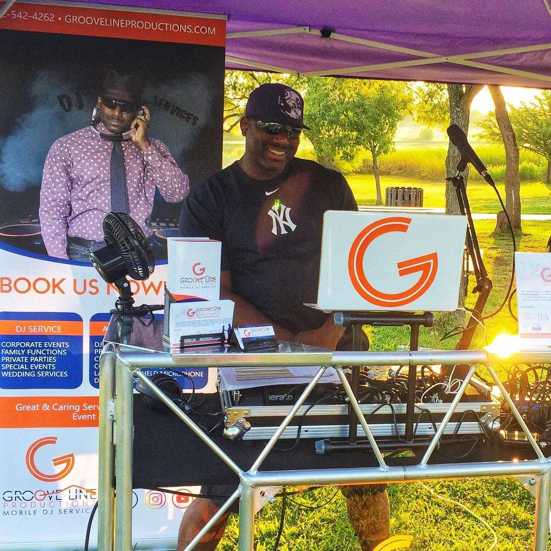 Groove Line Productions, GLP, DJ Ptch Blaq, Wedding DJ, Event DJ, Austin Weddings, Georgetown Weddings, Military Weddings