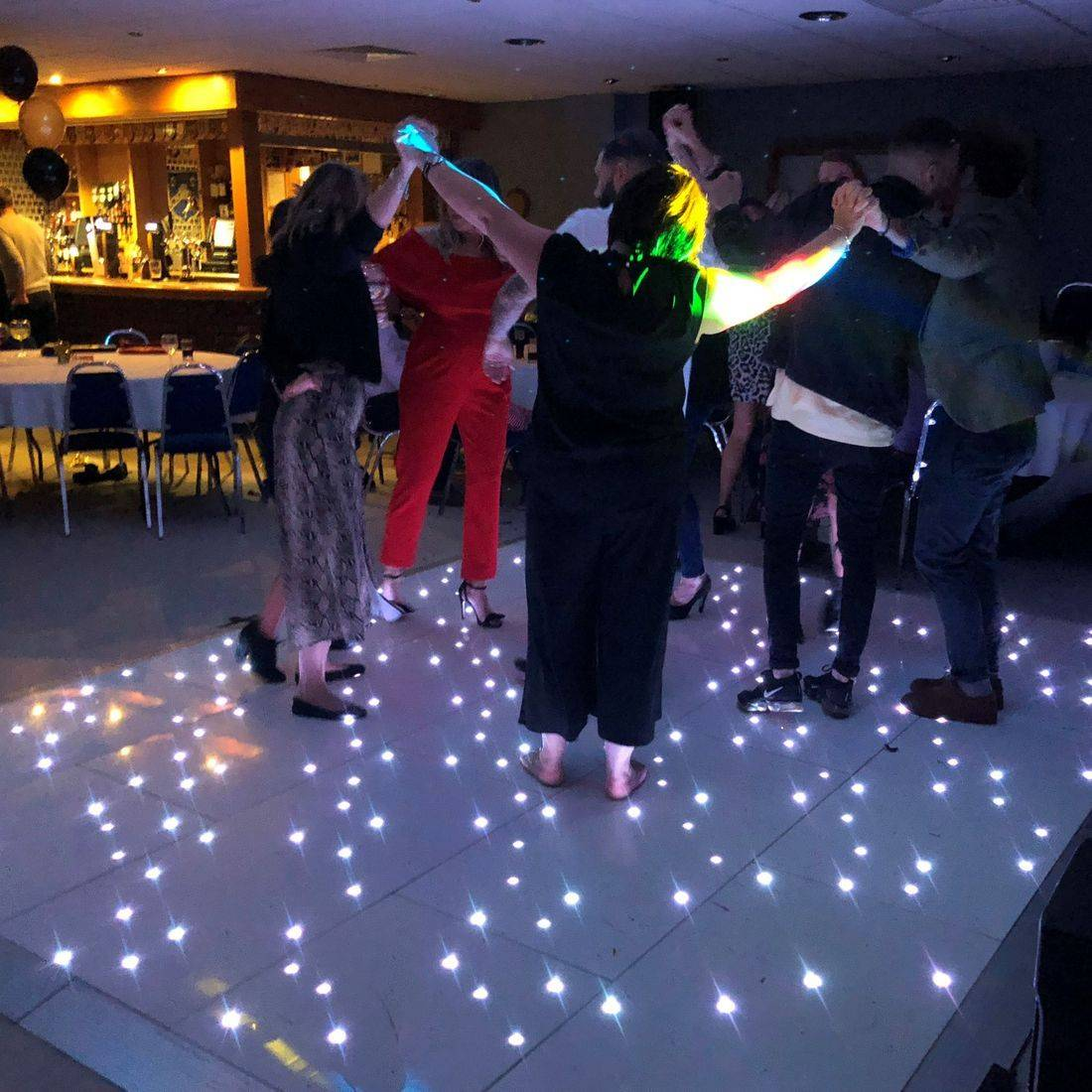 LED DANCEFLOOR HIRE WEDDING Stourbridge