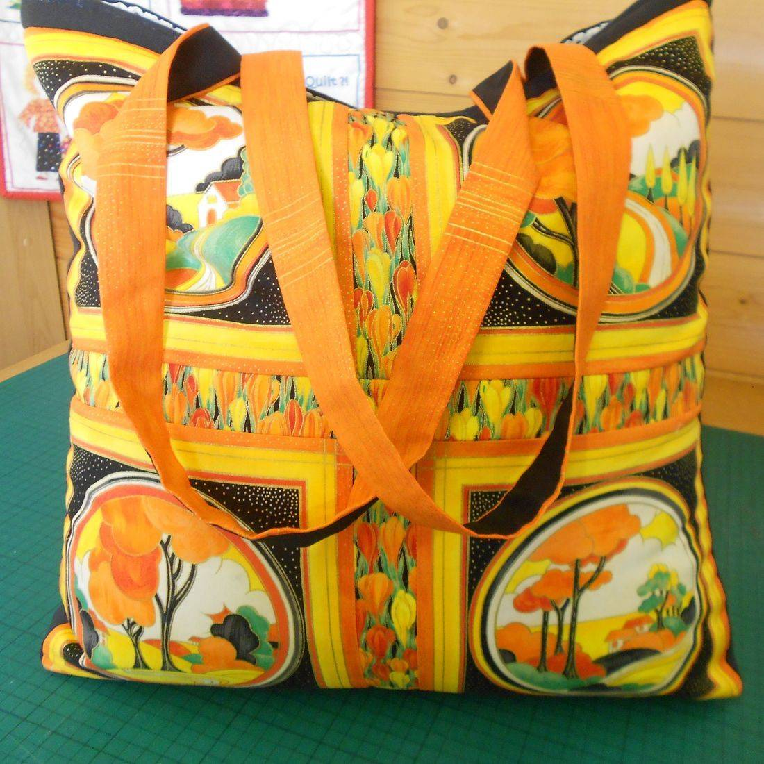 Clarice Cliff Inspired Bag