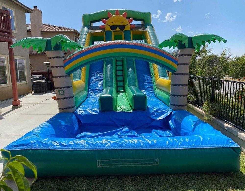 water slide jumper rental Party rentals Moreno Valley Beaumont Menifee