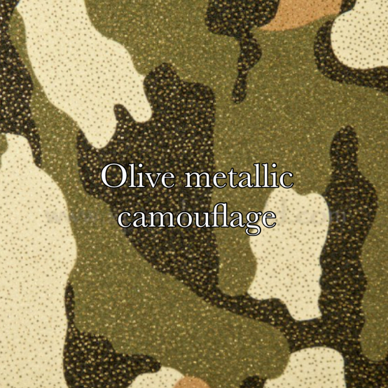 olive metallic camo