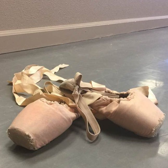 Pointe shoes must be left to dry out after class, in order to keep them lasting longer.