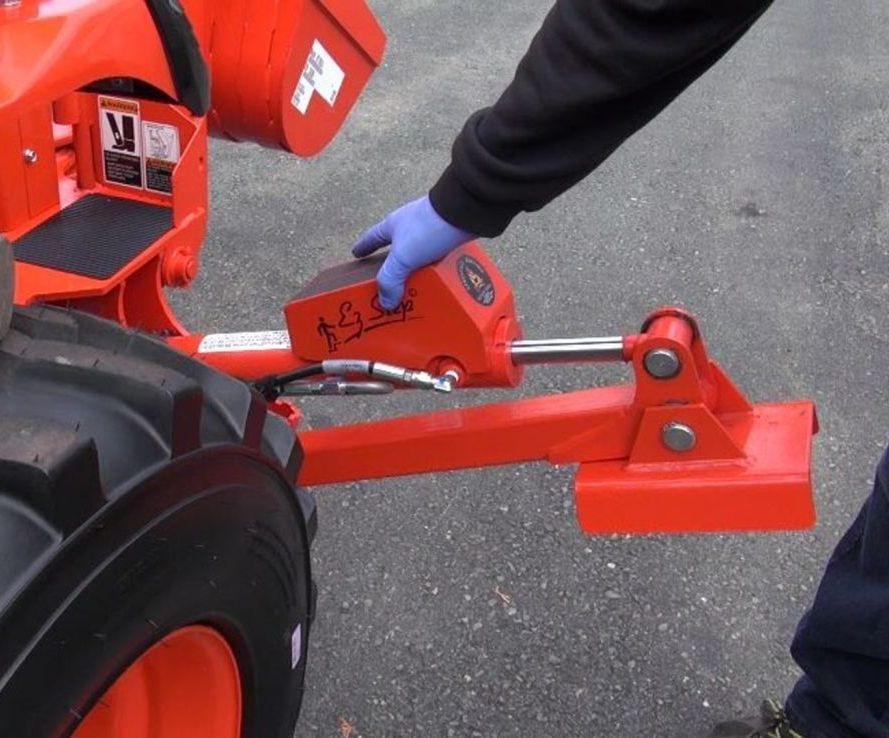 Kubota tractor step