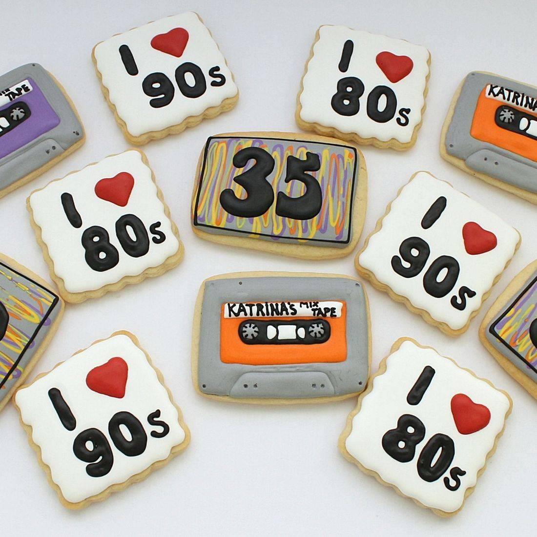 80s 90s cassette Cookies Milwaukee